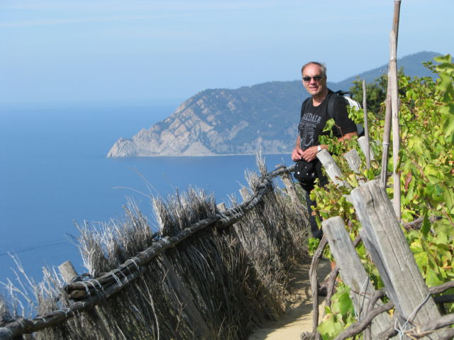 Hiking Cinque Terre Trails, vineyards and sea views