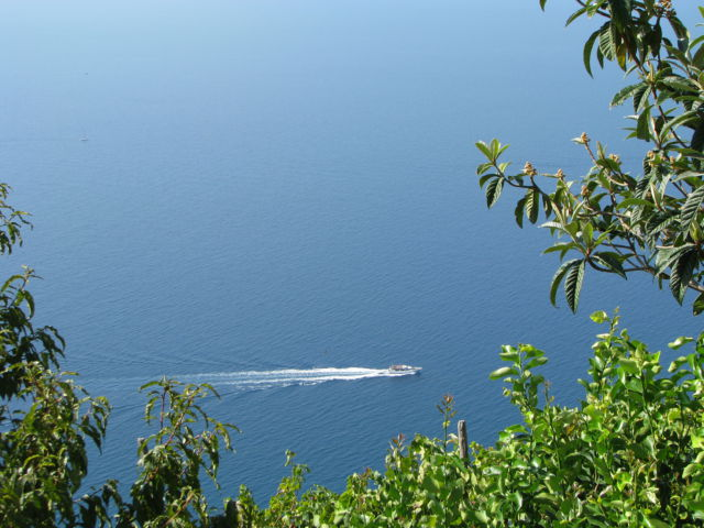 Hiking Cinque Terre Trails, the Mediterranean