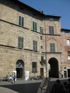 Lucca historic town Italy