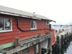 Monterey Fisherman's Wharf pier