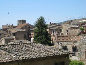 Toscana Scenic Drive San Gimignano hilltop town