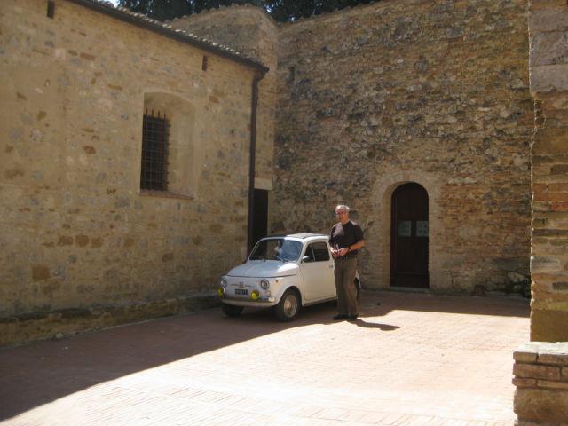 Tuscany Scenic Drive Fiat
