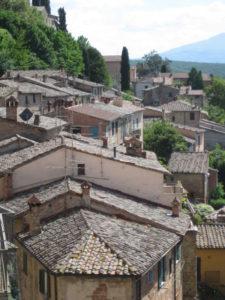 Tuscany scenic drive Pienza