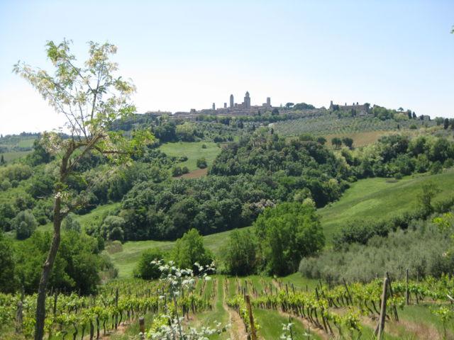 Tuscany Scenic Drive San Gimignano