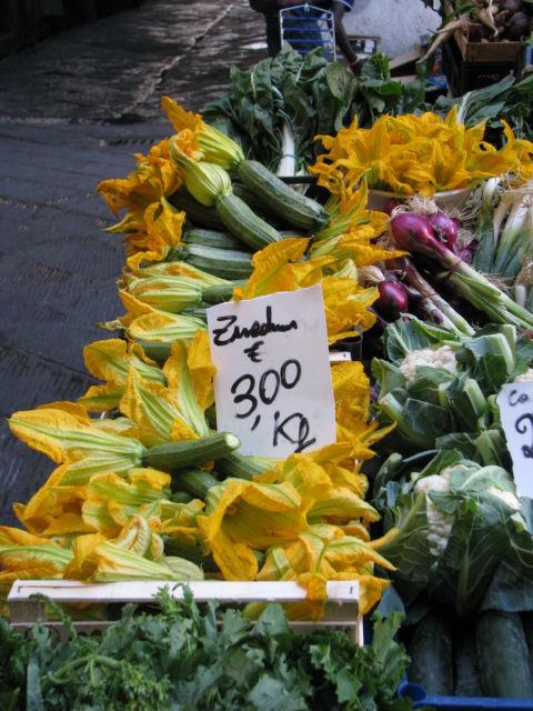 Tuscany Scenic Drive zucchini flowers