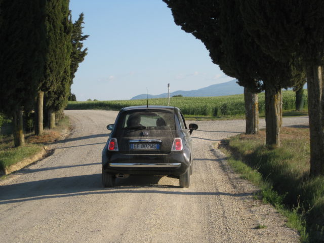 Tuscany scenic drive