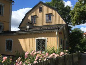 Djurgården house, Stockholm
