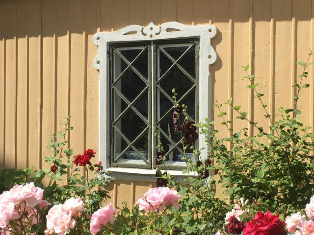 Djurgården house window, Stockholm