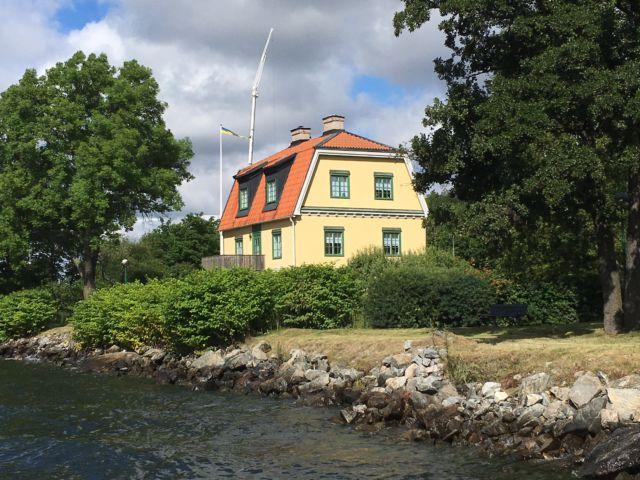 Djurgården villa Stockholm