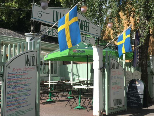 Lilla Parkkafeet, Stockholm