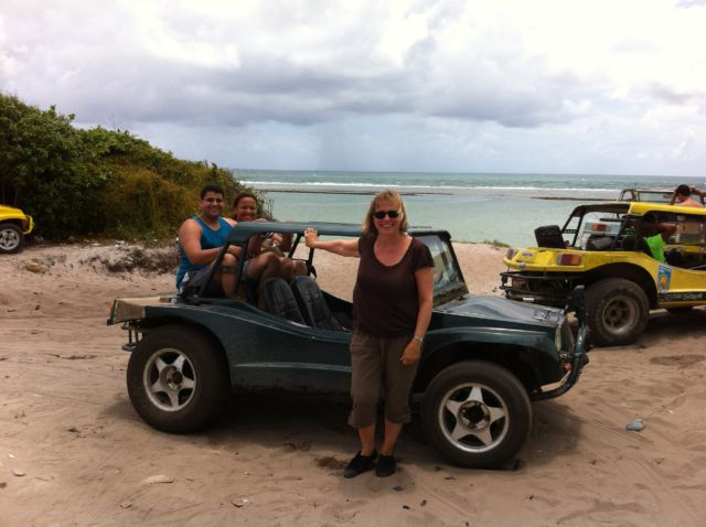 Porto de Galinhas beach buggy