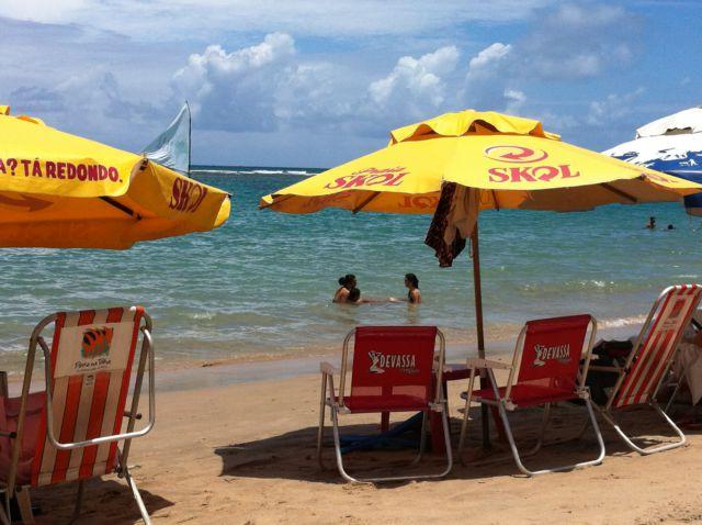 Porto de Galinhas beach Brazil