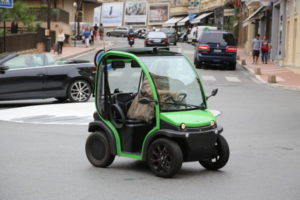 A small car in Monaco