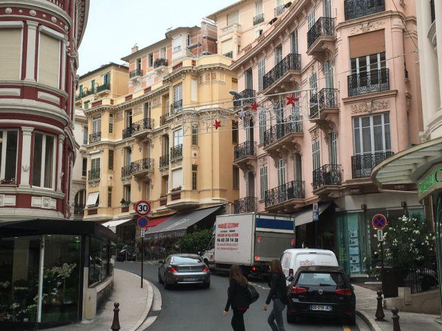 Boulevard des Moulins view Monaco