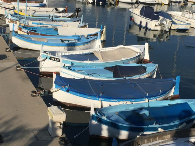 Cap-Ferrat-Saint-Jean fishing boats