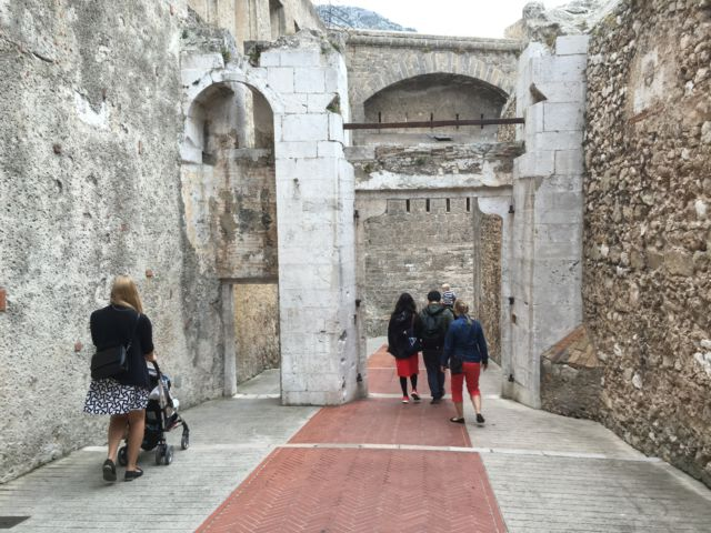 Monaco old town gate