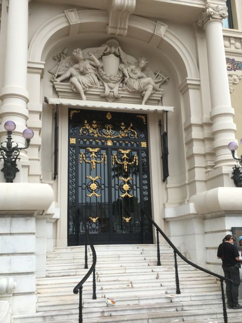 Monte Carlo Casino side door