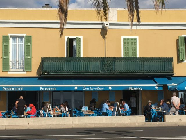 Nice in one day, Promenade des Anglais brasserie