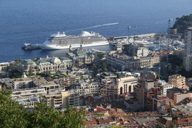 One day in Monaco, the Casino from the hills