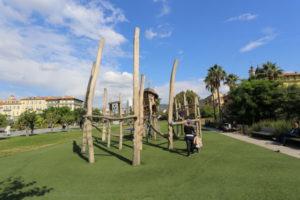 Promenade du Paillon playground