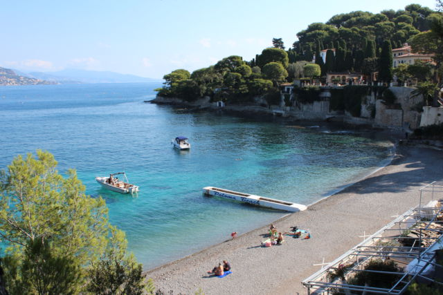Walk around Cap-Ferrat, Paloma beach