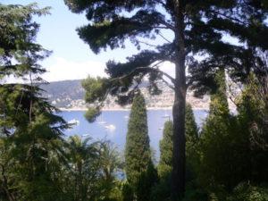 View from a Cap-Ferrat villa