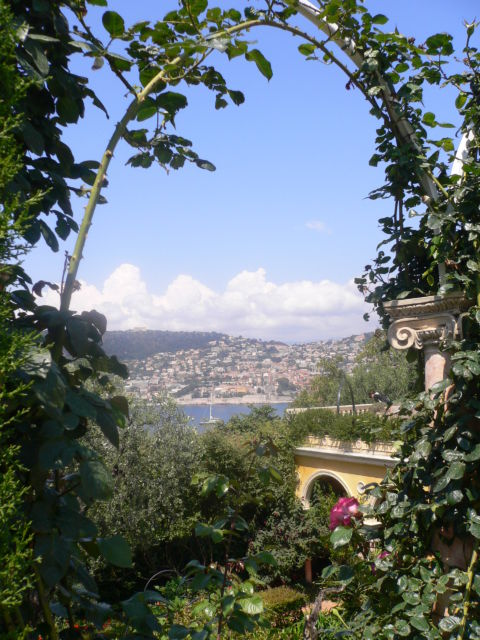 Walk around Cap-Ferrat, Villa Rothschild
