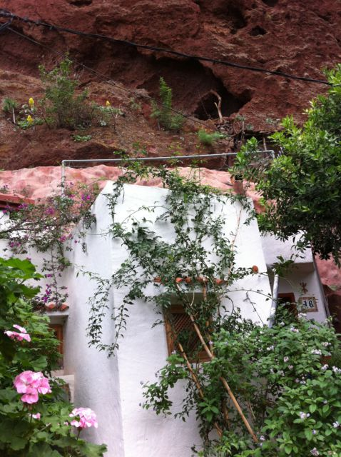 Cave house trip from Las Palmas Cuevas Bermejas