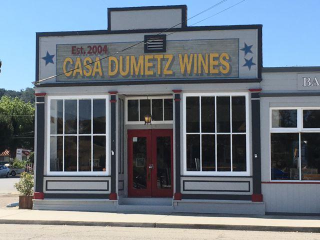 Los Alamos California Casa Dumetz Wines
