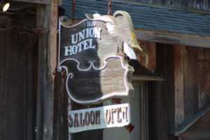 Los Alamos California Union Hotel saloon