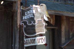 Los Alamos California Union Hotel saloon