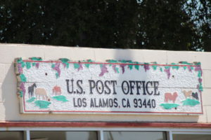 Los Alamos California US Post Office