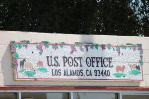 Los Alamos California US Post Office