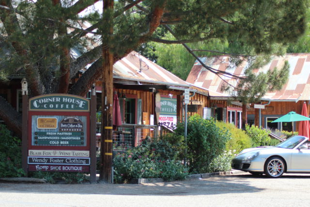 Los Olivos California Corner House
