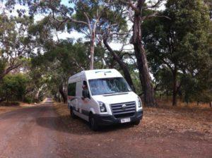 Melbourne to Sydney coastal drive with campervan