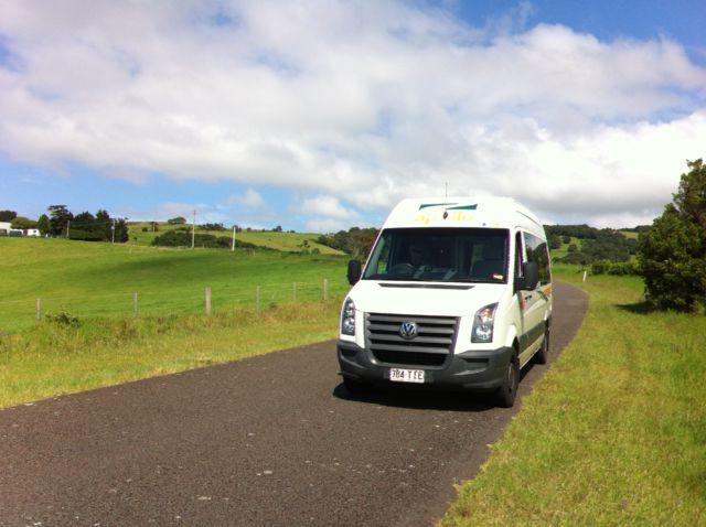Melbourne to Sydney drive on a campervan