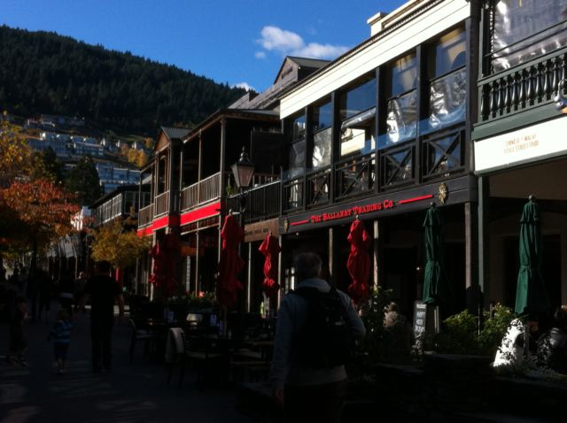 Queenstown shopping street