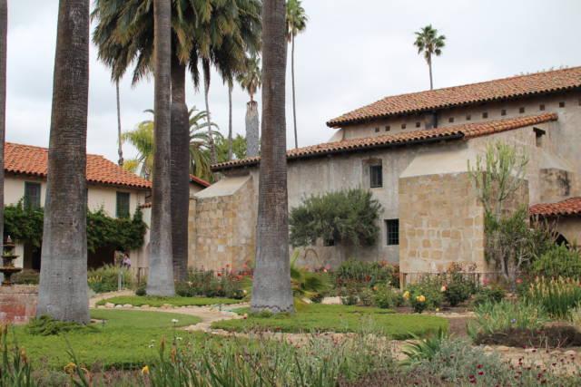 Santa Barbara Mission inner court