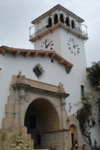 Santa Barbara Spanish building
