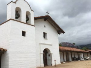 Santa Barbara Spanish church