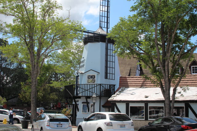 Solvang California Danish windmill