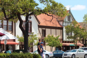 Solvang California street view