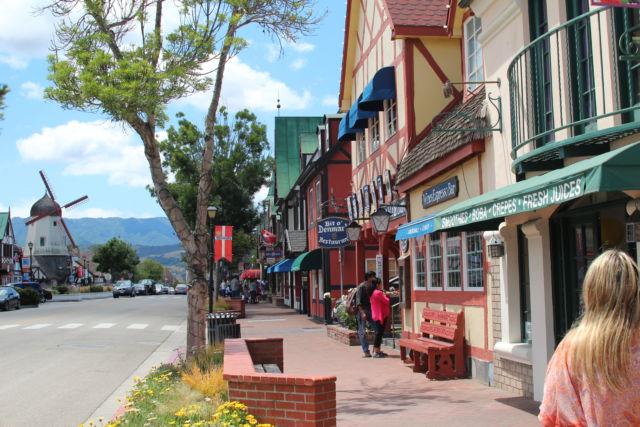 Solvang street view