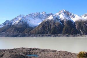 Tasman Glacier Lake Mount Cook National Park