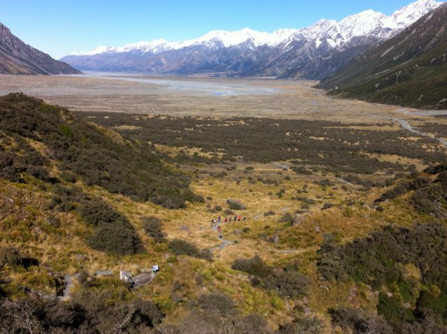 Short Walks in Mount Cook National Park Tasman Valley