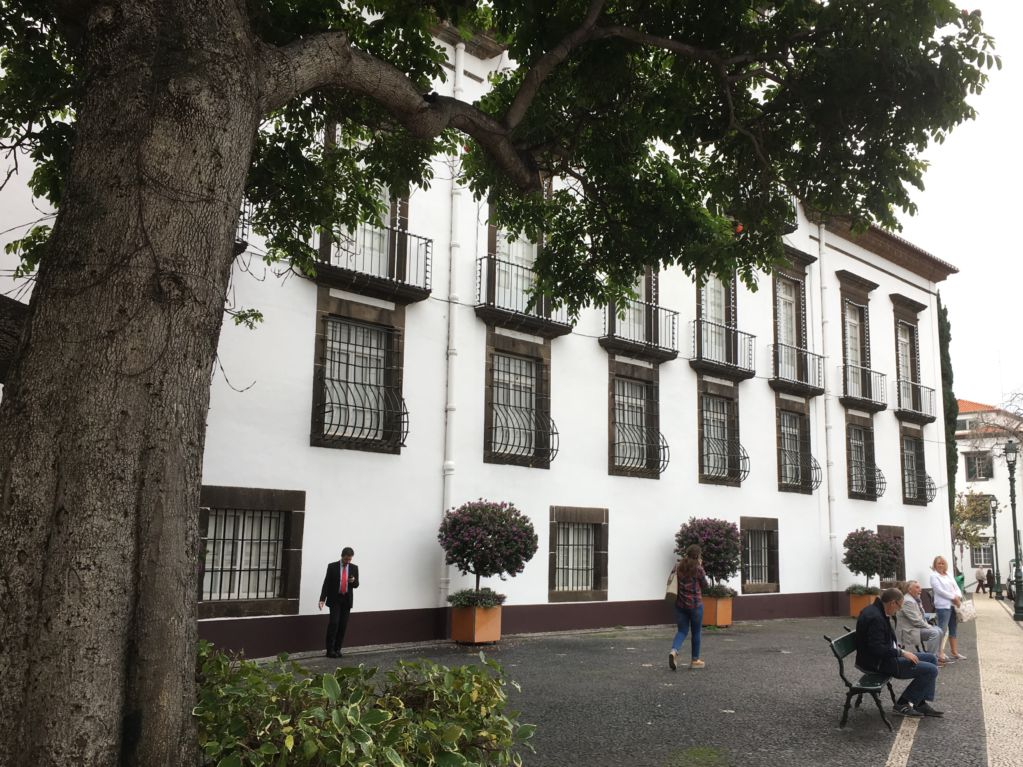 Funchal Baroque building