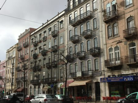 Avenida Almirante Reis Lisbon