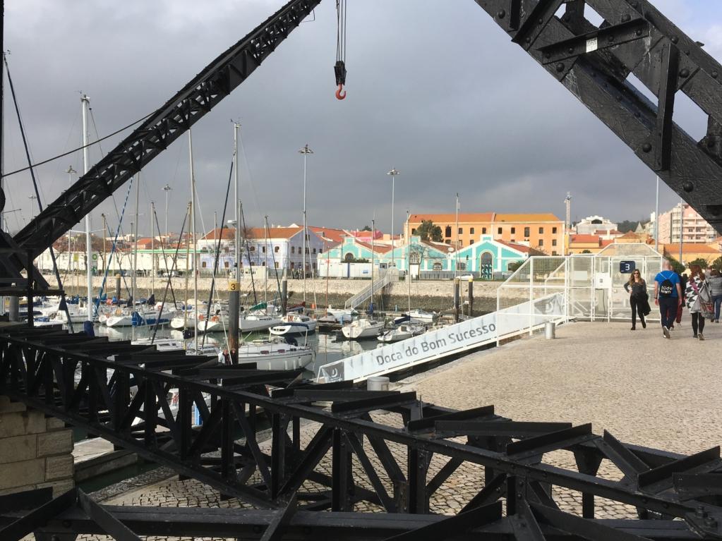 Belem harbour Portugal