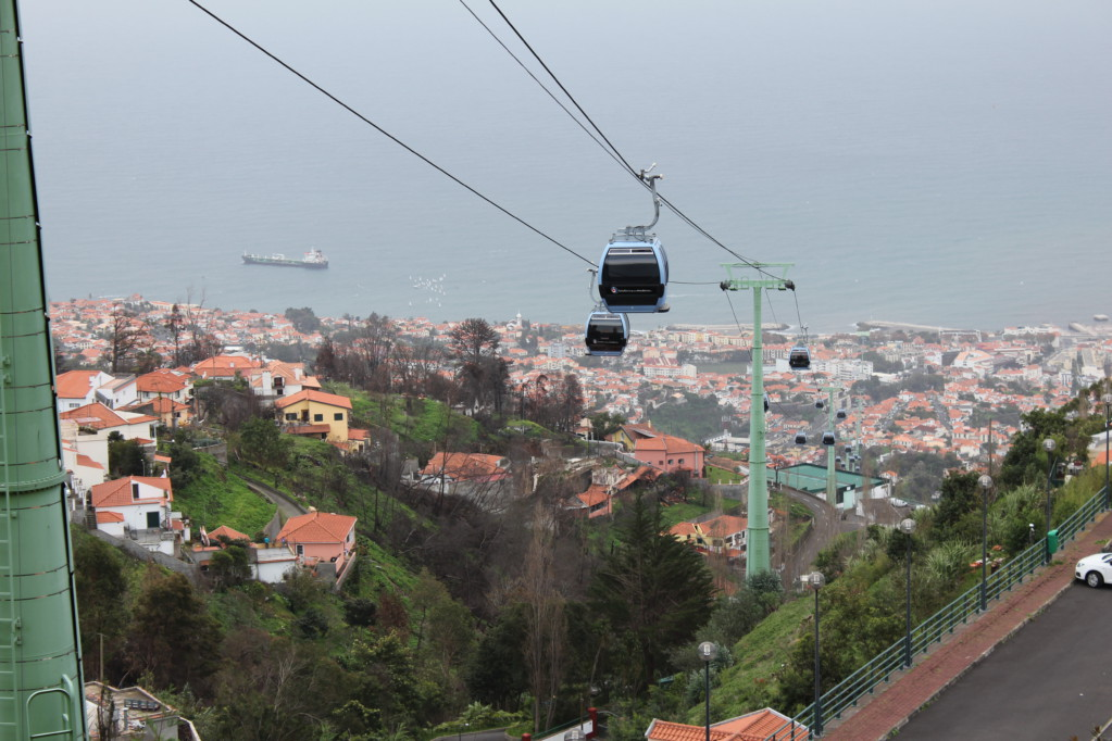 Cable car Funchal to Monte