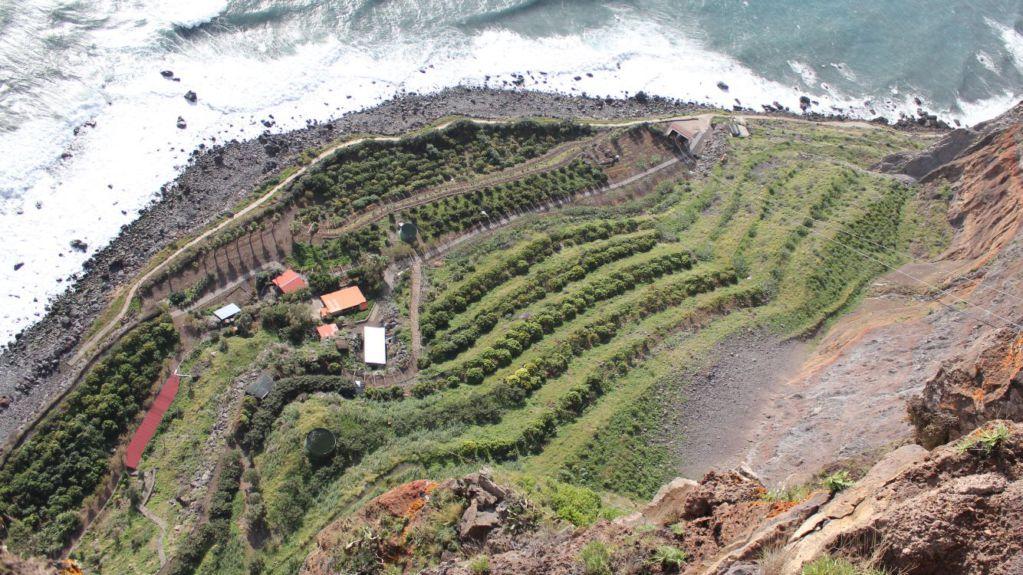 Cabo Girao Teleferico view